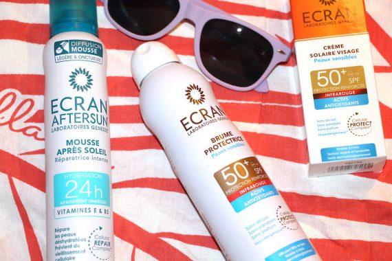 ECRAN : Protections solaires pour peaux sensibles