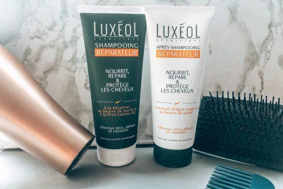 LUXÉROL : Duo shampooing et l'après-shampooing réparateur