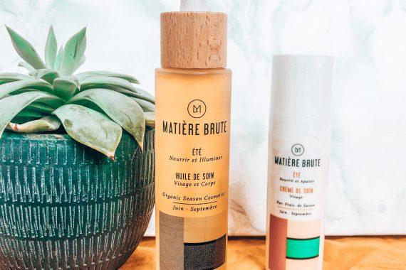 MATIÈRE BRUTE : Des cosmétiques purs, frais et de saison