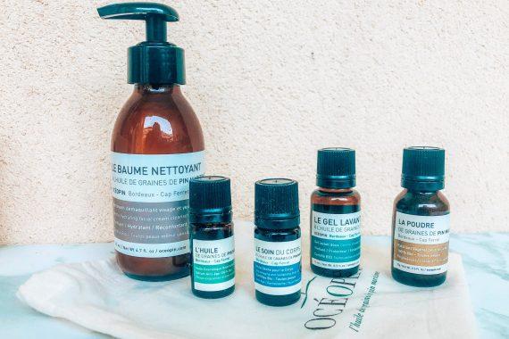 OCEOPIN : l'huile de graines de pin maritime au service de la beauté