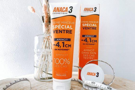 ANACA3+ : Crème minceur spécial ventre !
