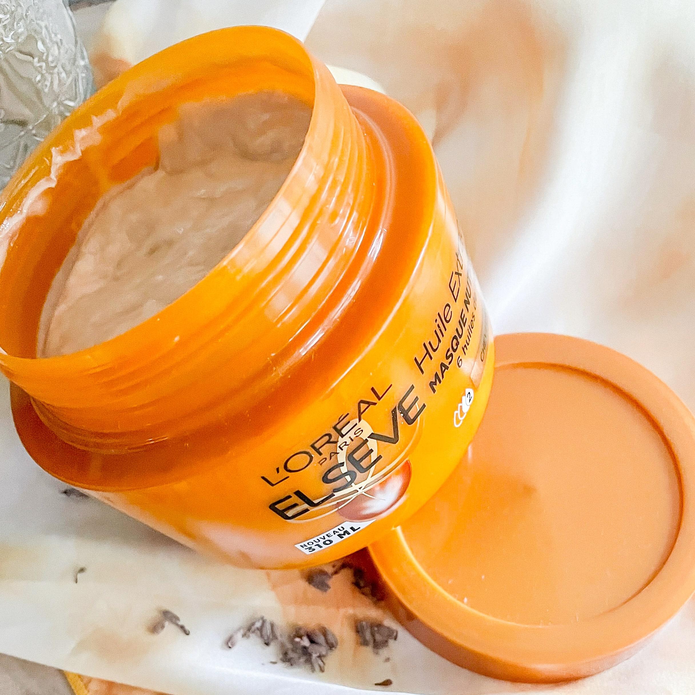 routine cocooning cheveux sec gamme huile extraordinaire elseve morandmors capillaire lifestyle blog