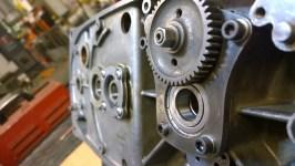 Carter puliti e cuscinetti sostituiti - Cleaned carters and new ball bearings