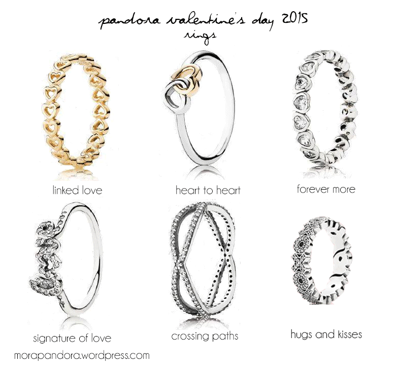 Preview Pandora Valentines Day 2015 Collection Mora