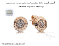 pandora rose gold stud earrings ,how much are pandora charms