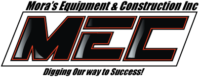 Mora's Equipment and Construction Logo