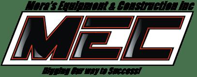 Mora's Equipment and Construction Logo