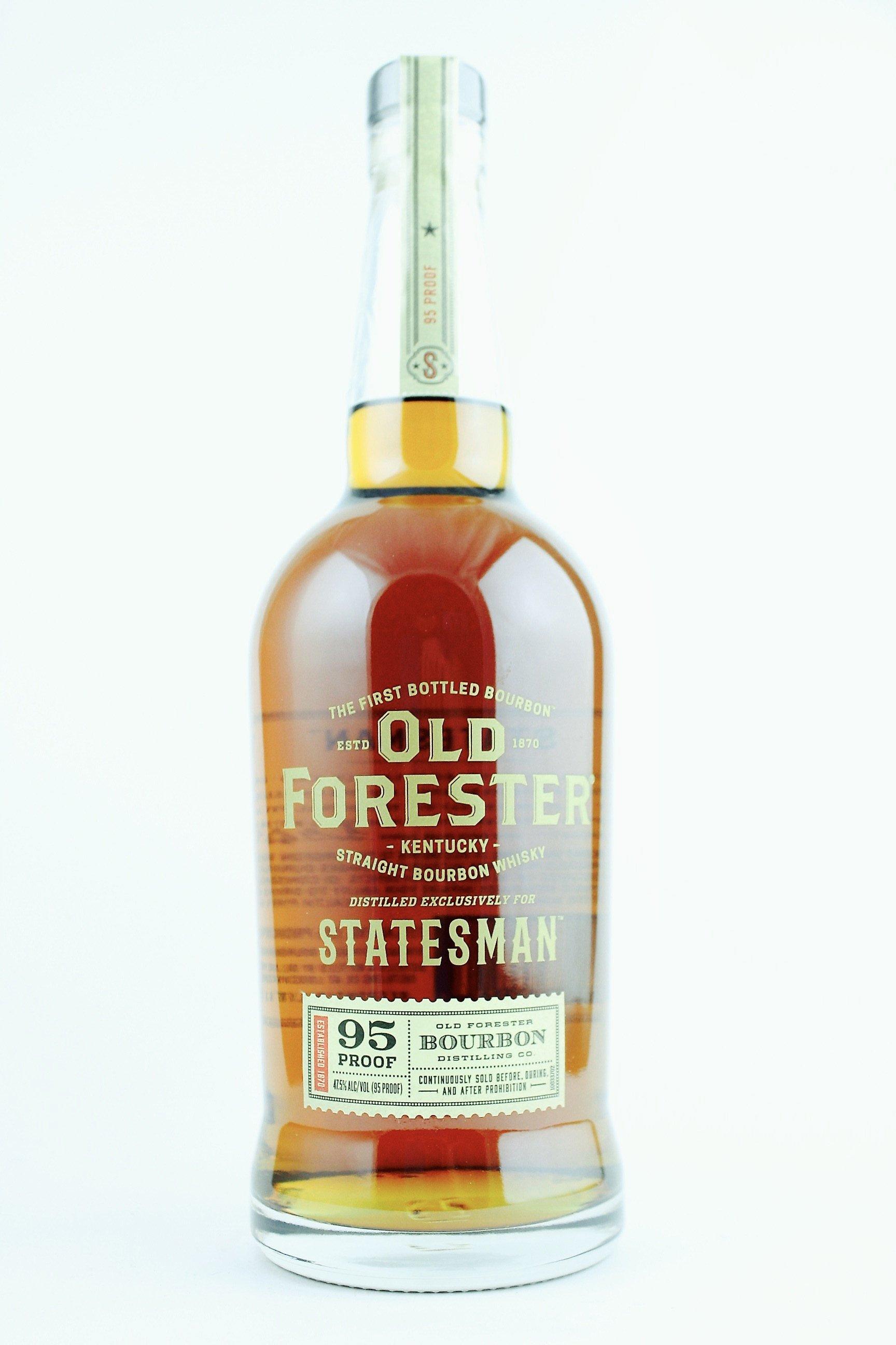 Old Forester Statesman Kentucky Straight Bourbon Whiskey 750 mL – Mora's Fine wine and spirits