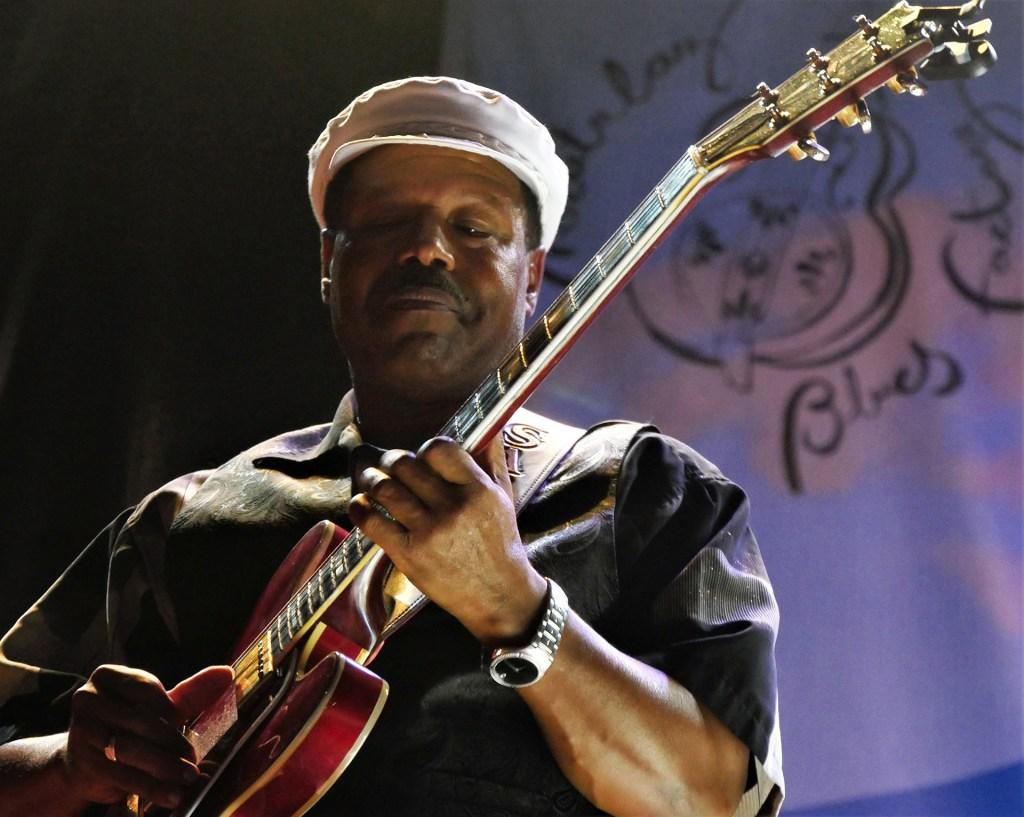 SaRon Crenshaw en el II Festival Internacional de Blues de Moratalaz