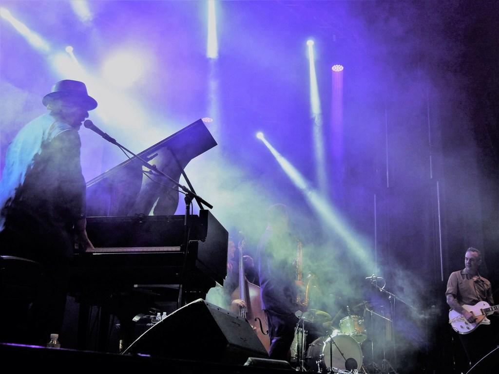 Mitch Woods en el Festival Internacional de Blues de Moratalaz 2018