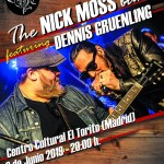 Nick Moss band and Dennis Gruenling