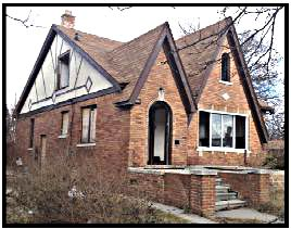 Home in Detroit foreclosed by Fannie Mae