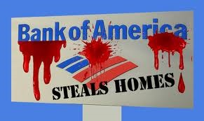 Bank of America steals homes
