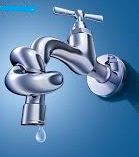 water faucet knot