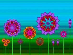 Fractal Flower Garden
