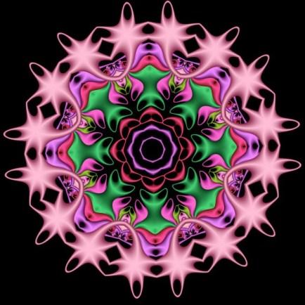 Circle of Fractal Roses