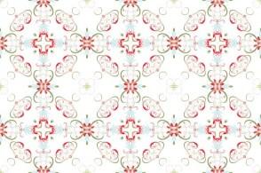 Christmas Swirl Pattern 01