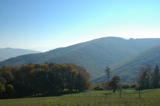 Bílé Karpaty v okolí Sv. Štěpána (Jarův vrch, 677 m).