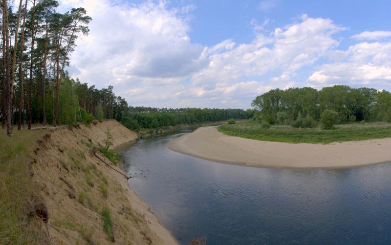 PP Osypané břehy leží na rozhraní dvou druhů geologického podloží. Z jedné strany břeh budují váté písky a z druhé strany nivní (povodňové) hlíny.