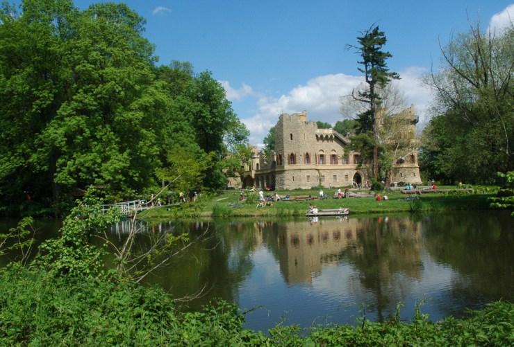 Janův hrad leží na Staré Dyji.