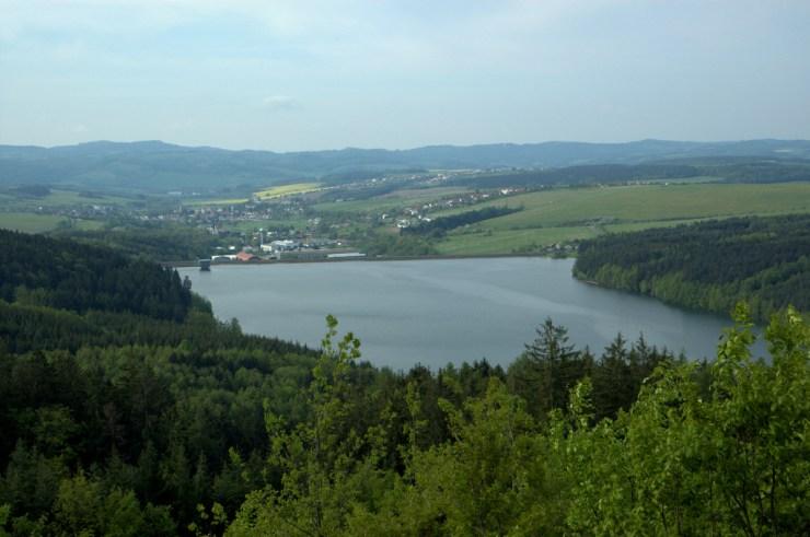 Vodní nádrž Slušovice na řece Dřevnice slouží jako hlavní zdroj pitné vody pro oblast Zlínska.