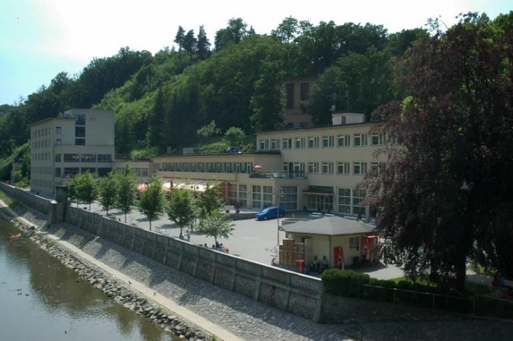 Lázně Teplice nad Bečvou.