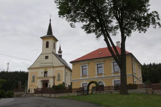 Kostel v Hutisku-Solanci.
