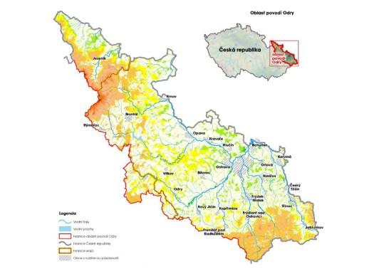 Oblast povodí Odry (zdroj: http://www.pod.cz/plan-oblasti-povodi-Odry/a-popis/mapy/ma_1_7a.jpg)