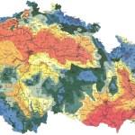 Klimatické oblasti dle Evžena Quitta (1971)