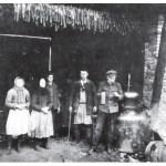 Průběh destilace
