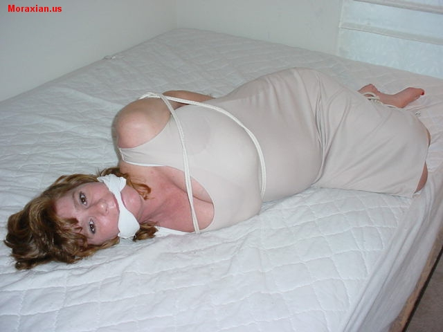 Bobbi Hogtied