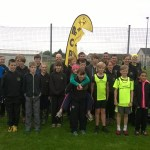 Cross Country Team at Thurso