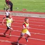 Archie in 200m u11
