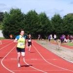 Kyle u13 winning 200m