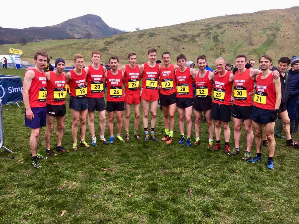 Inter District X-Country at Holyrood Park, Edinburgh 13/01/2018