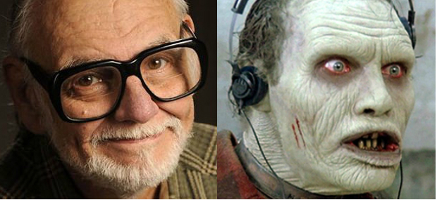 George Romero and Howard Sherman