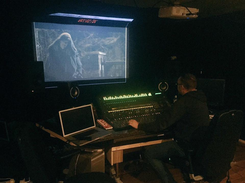 Sound Mixing for 12 Deaths of Christmas