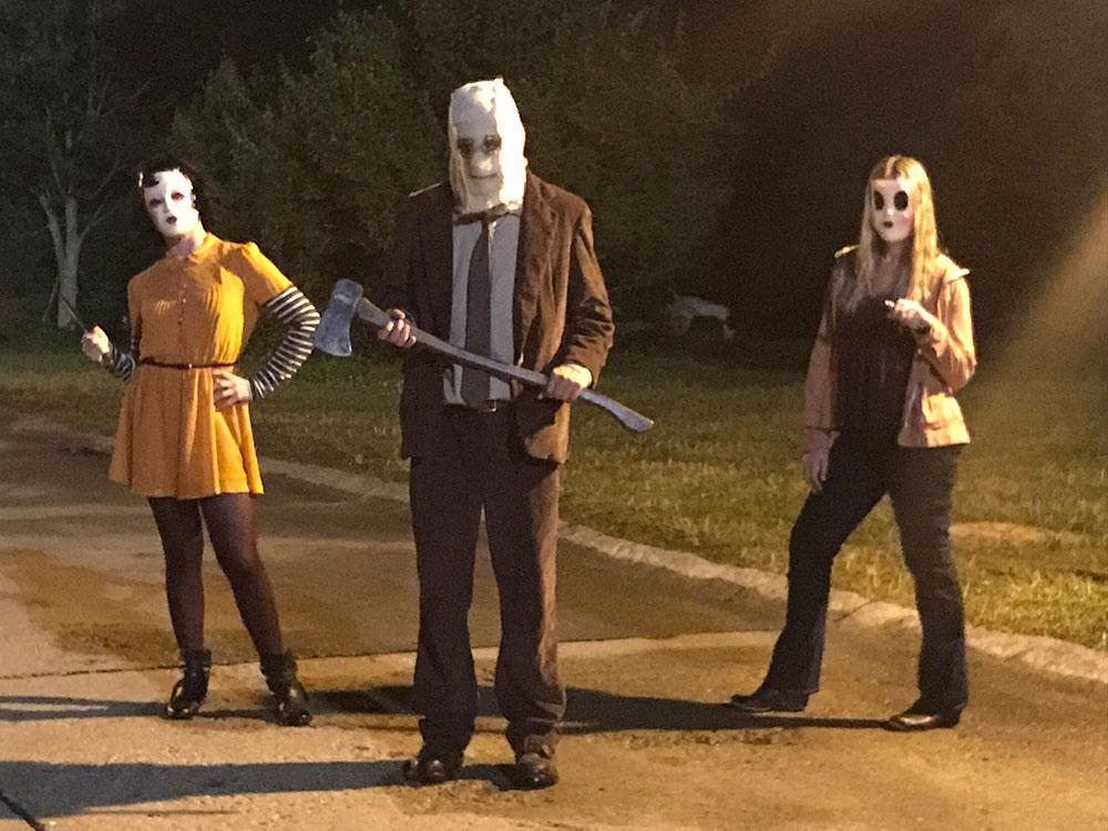 Man in the Mask Sack Head Halloween Costume THE ORIGINAL The Strangers