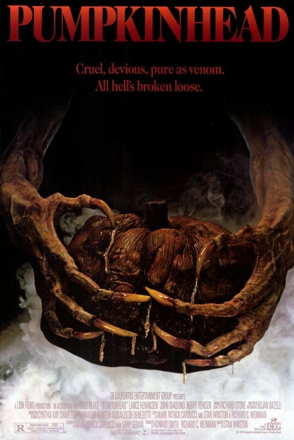"Poster for the movie ""Pumpkinhead"""