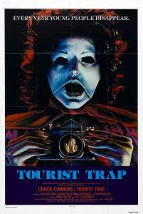"Poster for the movie ""Tourist Trap"""