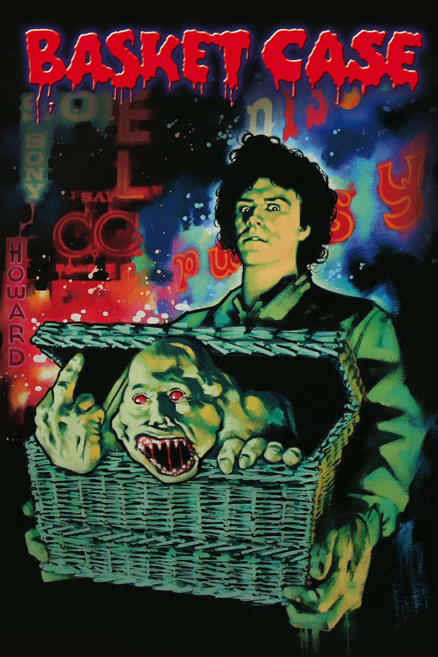 "Poster for the movie ""Basket Case"""