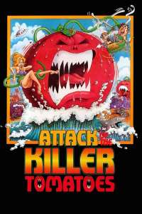 "Poster for the movie ""Attack of the Killer Tomatoes!"""