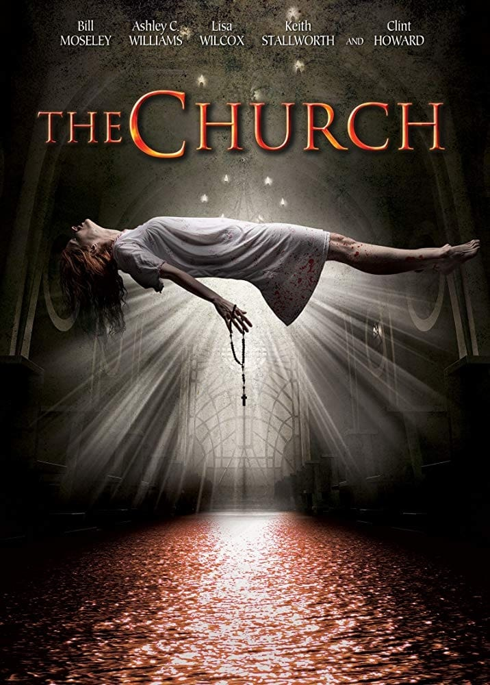 "Poster for the movie ""The Church"""