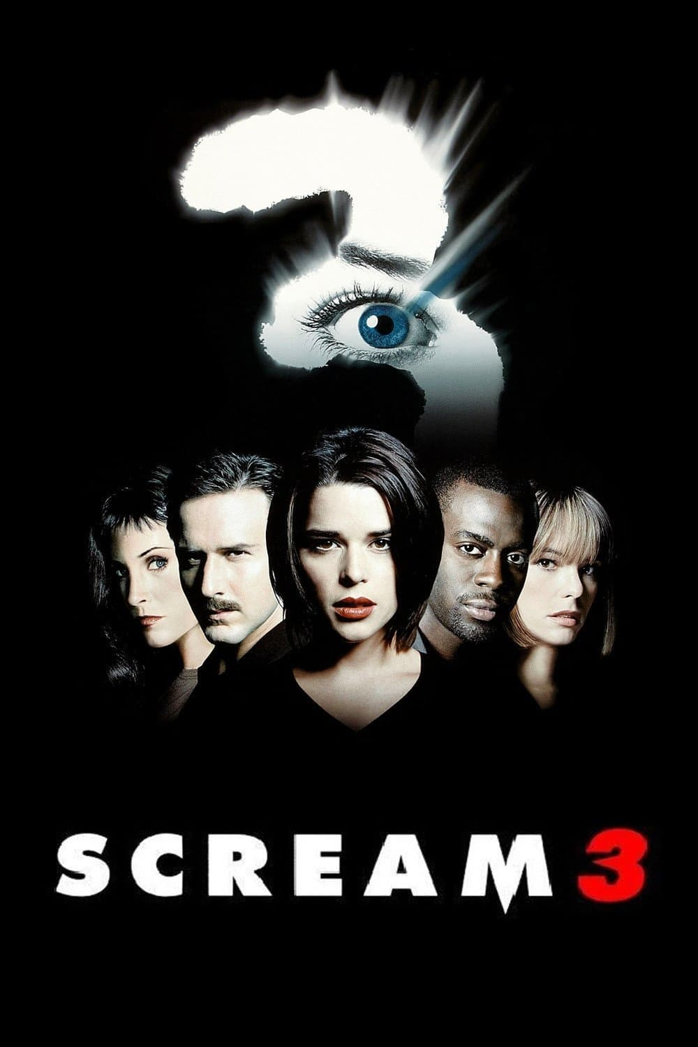 "Poster for the movie ""Scream 3"""