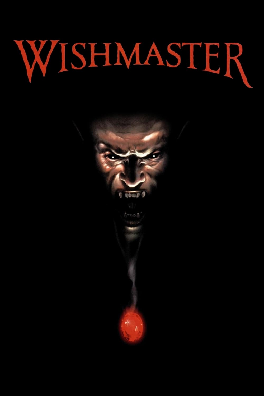 "Poster for the movie ""Wishmaster"""