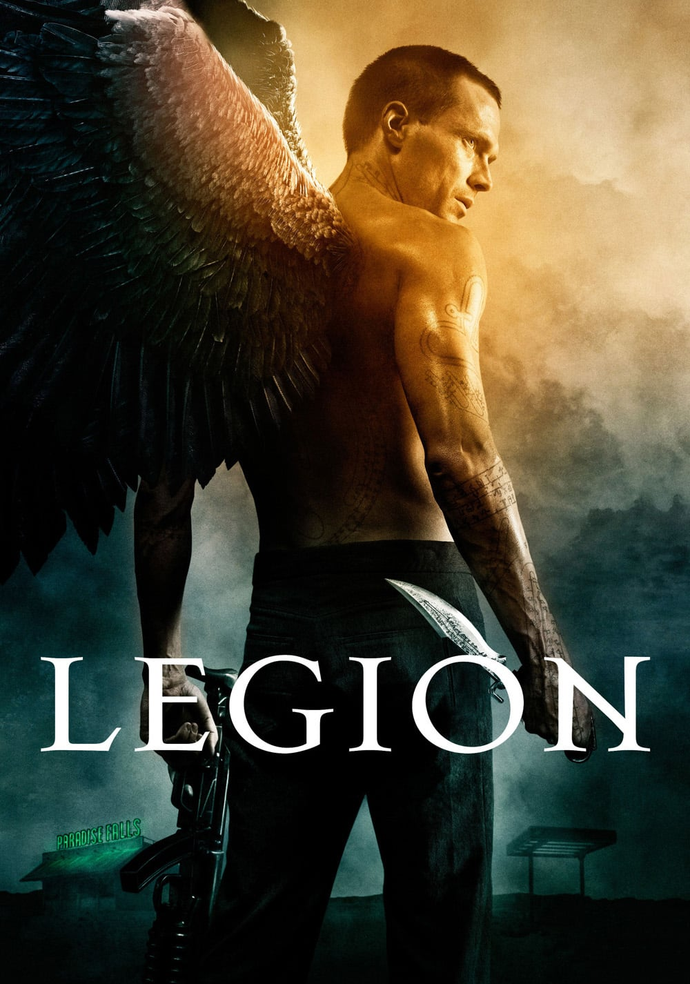 "Poster for the movie ""Legion"""
