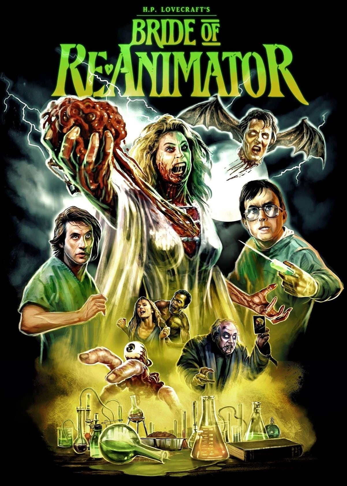 "Poster for the movie ""Bride of Re-Animator"""