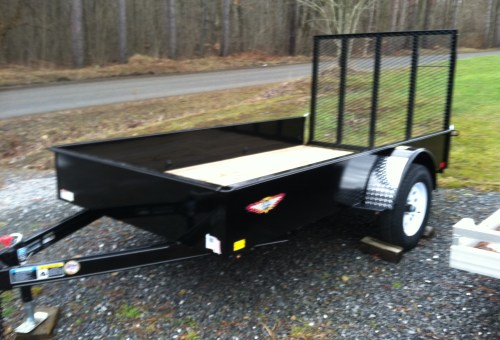 H&H Solid Side Single Axle