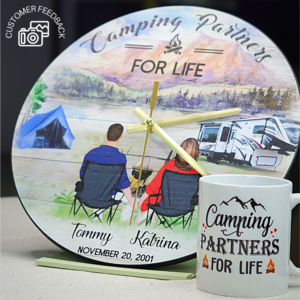 Camping Couple Customer Review 2