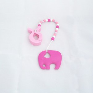 Mordedor pinza elefante pink